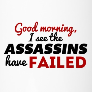I see the Assassins Have Failed - Travel Mug