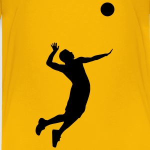 Volleyball Player Baby & Toddler Shirts - Toddler Premium T-Shirt