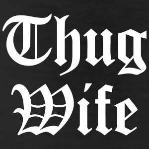 THUG WIFE Bottoms - Leggings by American Apparel
