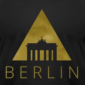 Berlin Hipster Triangle T-Shirts - Men's T-Shirt by American Apparel