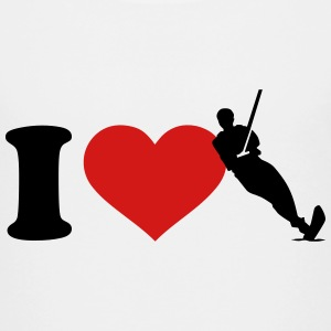 I love Water skiing Kids' Shirts - Kids' Premium T-Shirt
