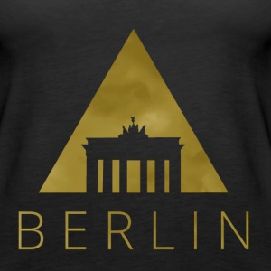 Berlin Hipster Triangle Tanks - Women's Premium Tank Top