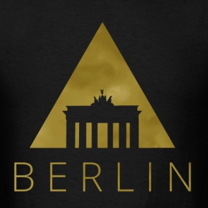 Berlin Hipster Triangle T-Shirts - Men's T-Shirt