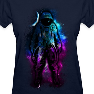 Space Nebula Astronaut - Women's T-Shirt