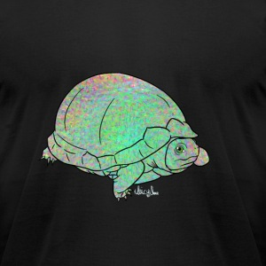 Trippy Turtle T-Shirts - Men's T-Shirt by American Apparel