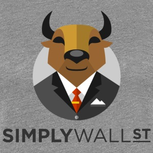 Simply Wall St T-Shirt with Bull Logo - Women's Premium T-Shirt