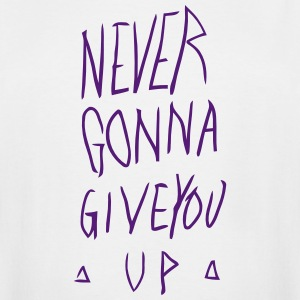 NEVER GONNA GIVE YOU UP T-Shirts - Men's Tall T-Shirt