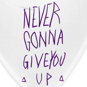 NEVER GONNA GIVE YOU UP Caps - Bandana