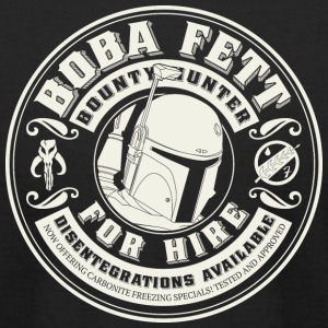Vintage Boba for Hire  T-Shirts - Men's T-Shirt by American Apparel
