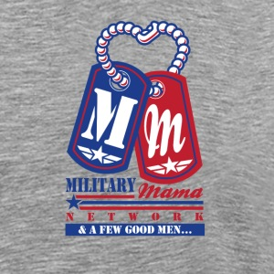 Military Mama Network Official T-shirt T-Shirts - Men's Premium T-Shirt