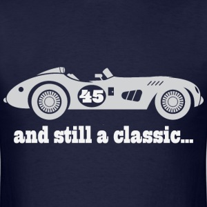 45th Birthday Vintage Car T-Shirts - Men's T-Shirt