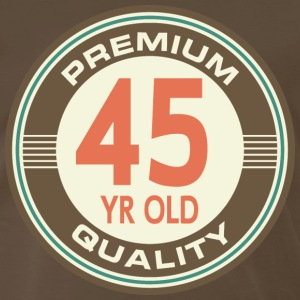 45th Birthday Vintage Retro T-Shirts - Men's Premium T-Shirt
