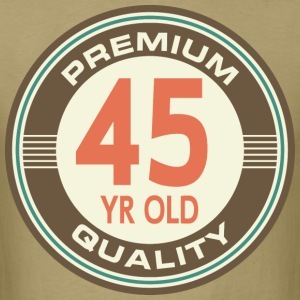 45th Birthday Vintage Retro T-Shirts - Men's T-Shirt