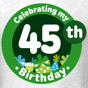 45th Birthday Party Celebration T-Shirts - Men's T-Shirt