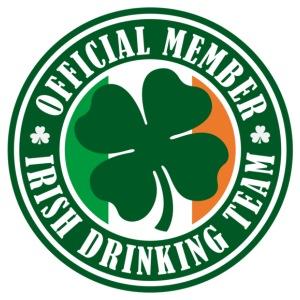 Official Member Irish Drinking Team Circle