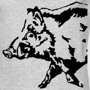 Wild Boar Long Sleeve Shirts - Men's Long Sleeve T-Shirt by Next Level