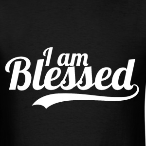 I Am Blessed - Thanksgiving T-Shirts - Men's T-Shirt