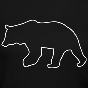 Bear - Grizzly Long Sleeve Shirts - Women's Long Sleeve Jersey T-Shirt