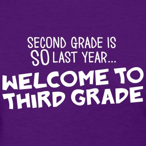 welcome to 3rd grade Women's T-Shirts - Women's T-Shirt
