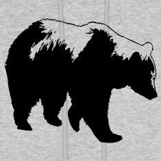 Bear - Grizzly Hoodies