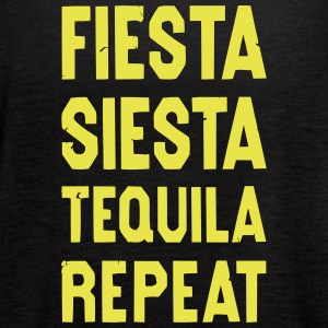 FIESTA SIESTA TEQUILA Tanks - Women's Flowy Tank Top by Bella