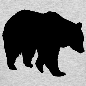 Bear - Grizzly Long Sleeve Shirts - Men's Long Sleeve T-Shirt by Next Level
