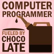 Design ~ Computer Programmer Womens T-shirt (funny)
