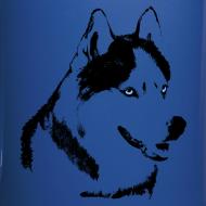 Design ~ HUsky Cups Sled Dog Mugs Siberian Husky Coffee Cups
