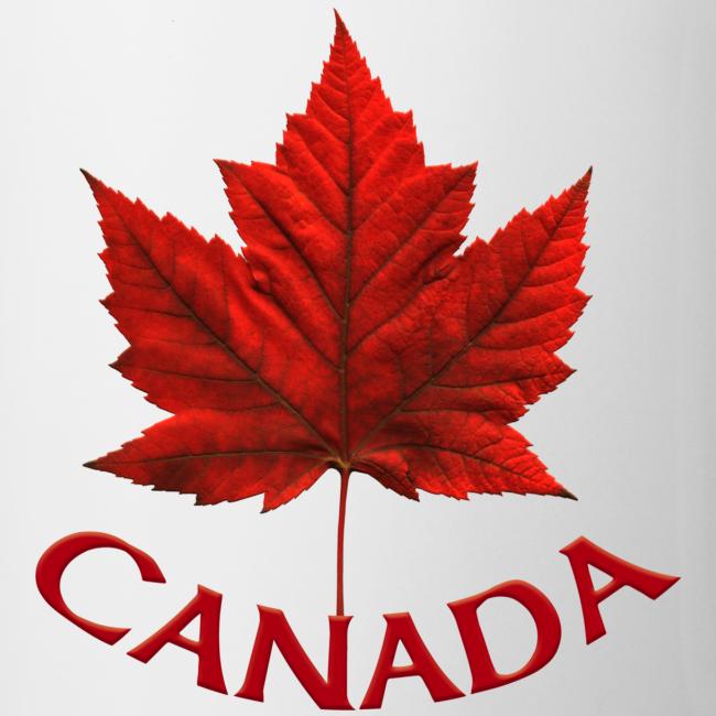 Canada Souvenir Cups Red Canada Maple Leaf Mugs