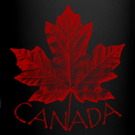 Design ~ Canada Souvenir Cups Cool Canada Maple Leaf Mugs