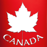 Design ~ Canada Flag Cups Souvenir Mugs Red Canada Maple Leaf Cups