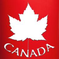 Design ~ Canada Flag Cups Souvenir Mugs Red Canada Maple Leaf Cups