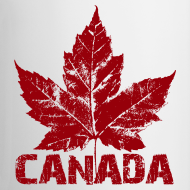 Design ~ Canada Souvenir Cups Cool Canada Maple Leaf Mugs