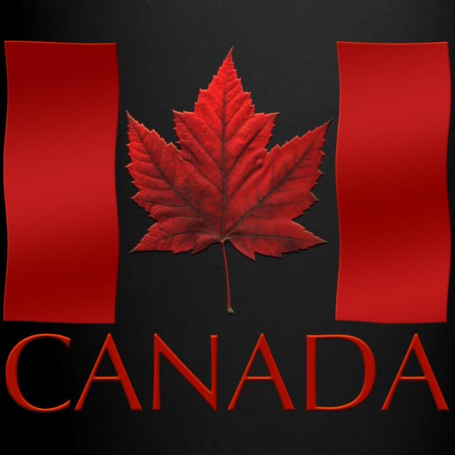 Canada Flag Cups Souvenir Mugs Red Canada Flag Coffee Cups