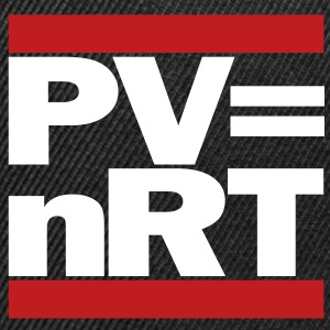Hip-Hop-style: PV = nRT (ideal gas equation) - Snap-back Baseball Cap