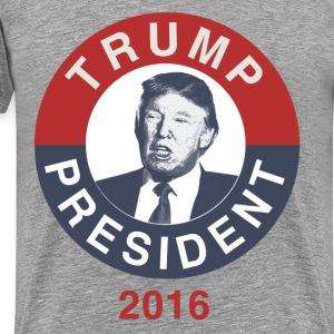 Trump Shirts, Donald Trump for President 2016 - Men's Premium T-Shirt