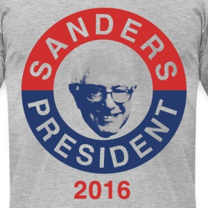 Bernie Sanders 2016 - Men's T-Shirt by American Apparel