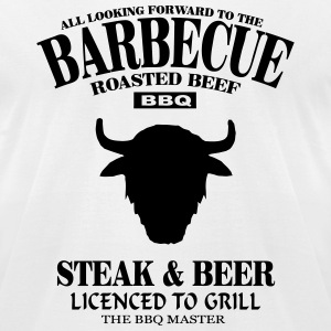 Barbecue - Buffalo  T-Shirts - Men's T-Shirt by American Apparel