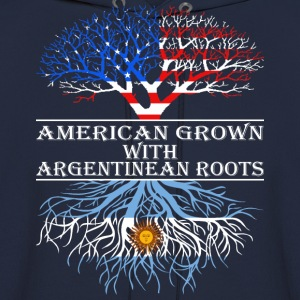 American Grown With Argentinean Roots - Men's Hoodie