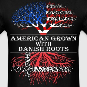 American Grown With Danish Roots - Men's T-Shirt