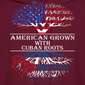 American Grown With Cuban Roots - Men's Hoodie