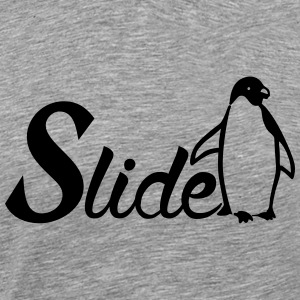 Slide Penguin T-Shirts - Men's Premium T-Shirt