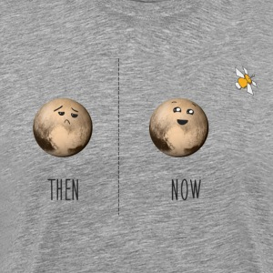 Pluto then and now - Men's Premium T-Shirt