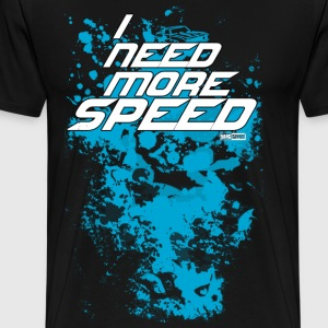 I Need More Speed Blue T-Shirt - Men's Premium T-Shirt