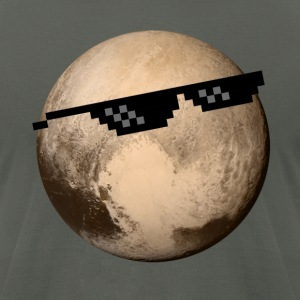 Pluto | Deal with it - Men's T-Shirt by American Apparel