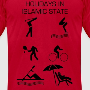 Holidays in Islamic State T-Shirts - Men's T-Shirt by American Apparel