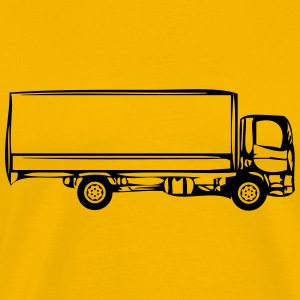 Truck truck two-axle T-Shirts - Men's Premium T-Shirt