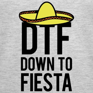DTF DOWN TO FIESTA Tanks - Women's Premium Tank Top