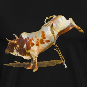 Bucking Rodeo Bull II - Men's Premium T-Shirt