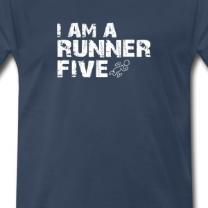 I AM RUNNER - Men's Premium T-Shirt